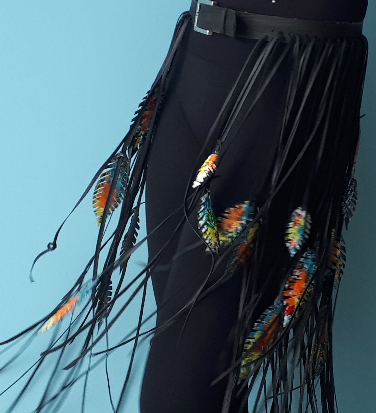 Fringe Belt by Laura Zabo