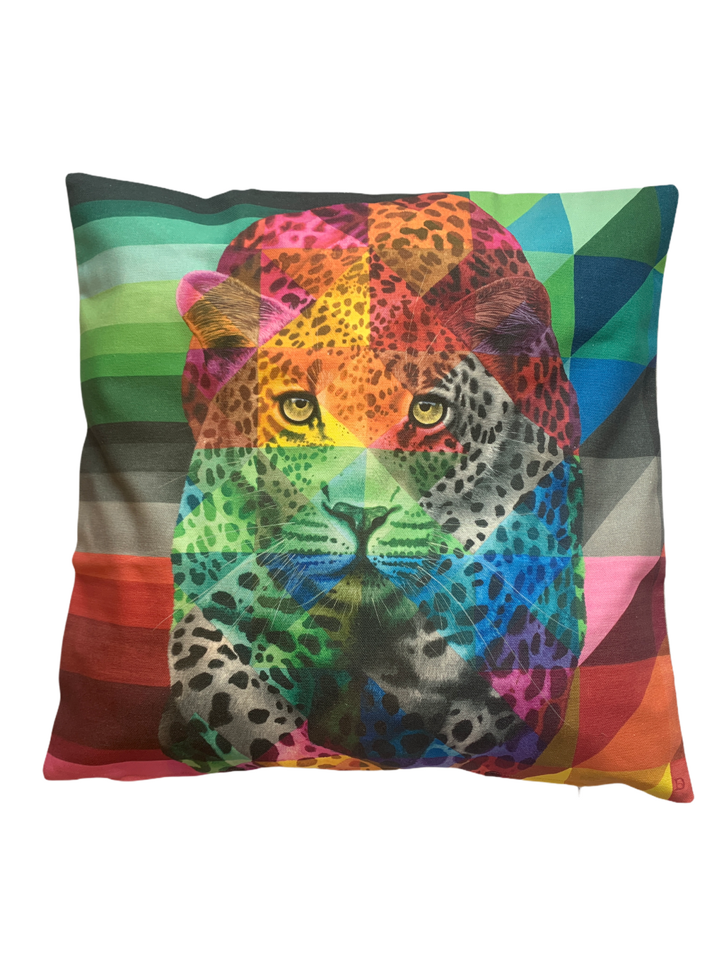tiger design eco-friendly pillow cotton cushion