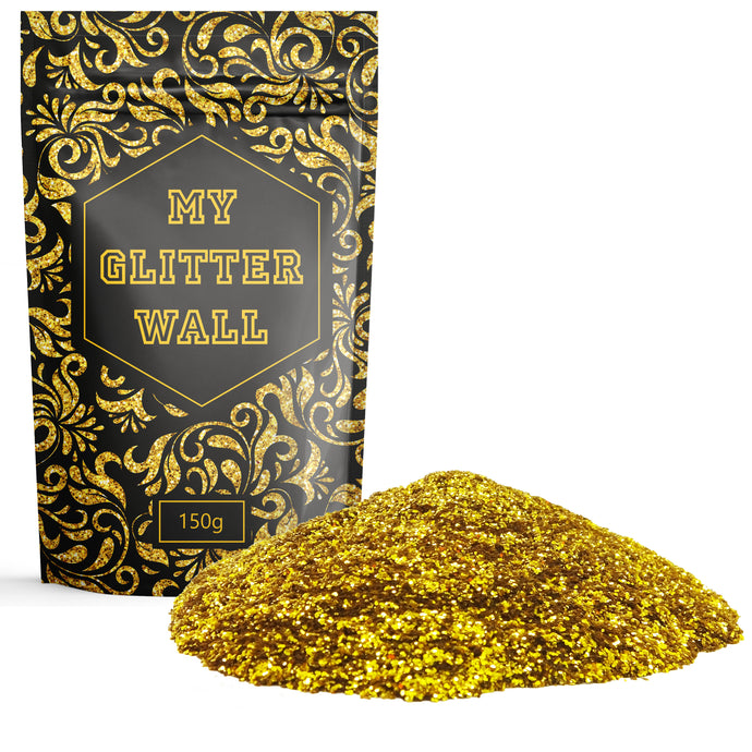 Gold Glitter Paint Flakes glitter paint for walls