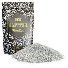 Silver AB Glitter Paint Flakes glitter paint for walls