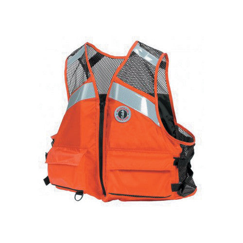 Mustang Survival Industrial Mesh Work PFD Type III LG