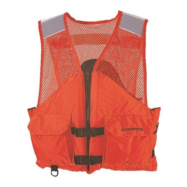 Stearns Work Zone Life Vest Type III USCG Approved LG