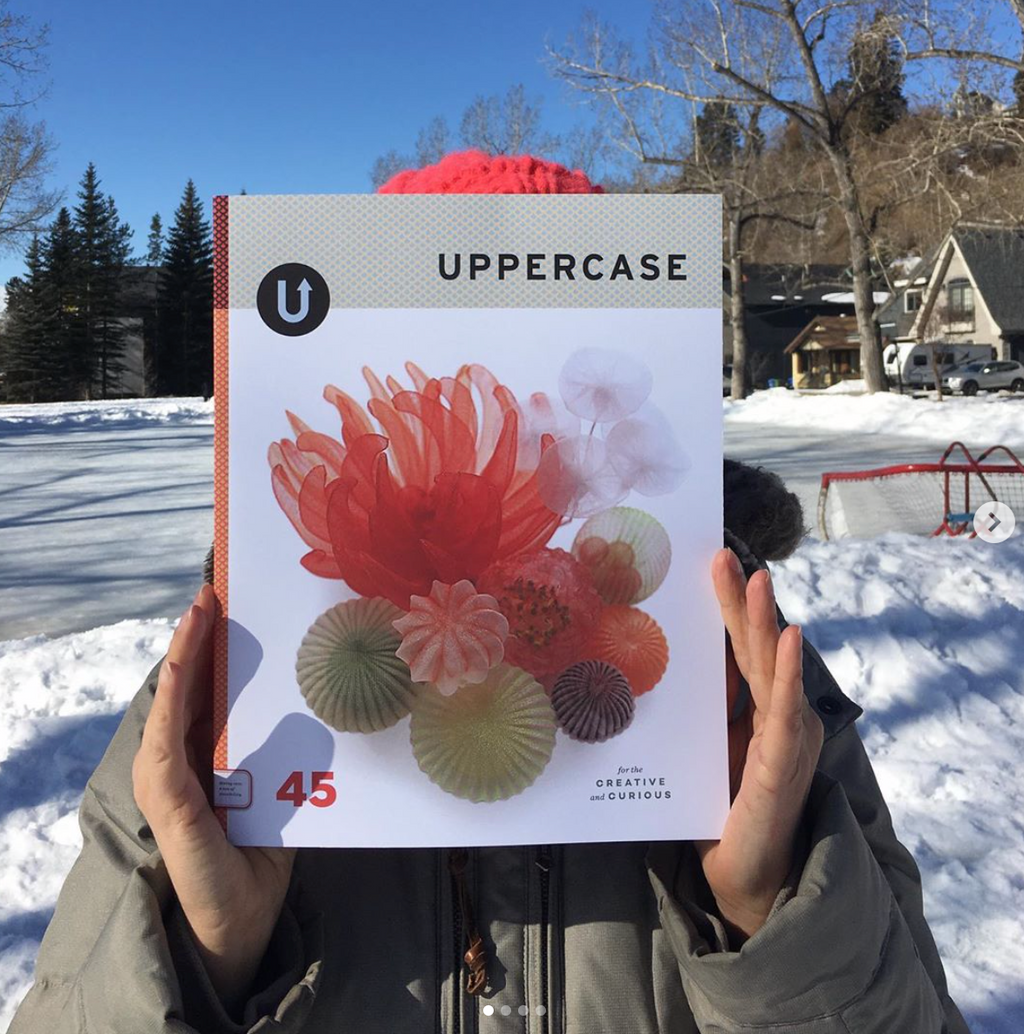 Janine Vangool of Uppercase Magazine is full of good ideas. Listen to the Podcast.