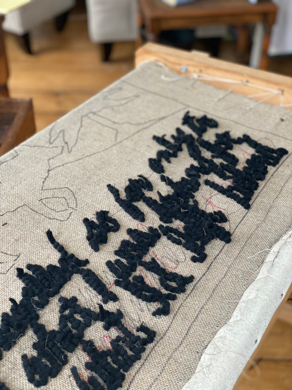 Tips for Finishing Hooked Rugs