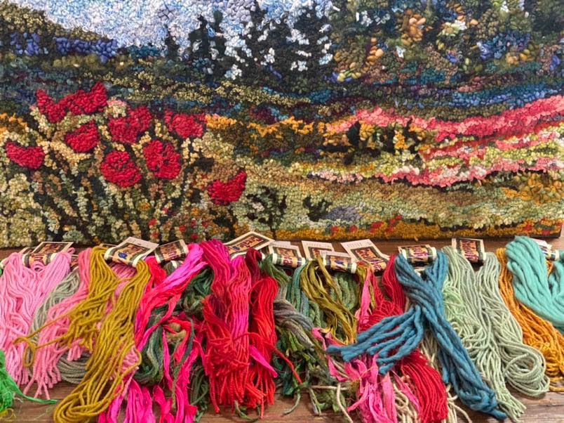 Sunday letter..rug hooking offers focus in age of distraction