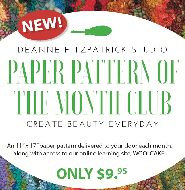 Paper pattern of the  month club ONLY $9.95