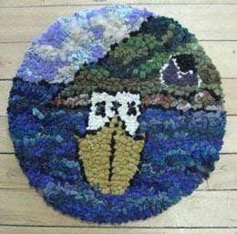 "update alt-text with template Cape Islander Chairpad 13 by 13"" round-vendor-unknown-Rug Hooking Kit -Rug Hooking Pattern -Rug Hooking -Deanne Fitzpatrick Rug Hooking Studio -Is rug hooking the same as punch needle?"