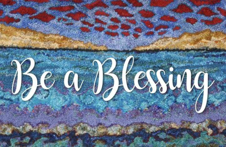 update alt-text with template Greeting Cards - Be a Blessing-Gift Ideas-vendor-unknown-Rug Hooking Kit -Rug Hooking Pattern -Rug Hooking -Deanne Fitzpatrick Rug Hooking Studio -Is rug hooking the same as punch needle?