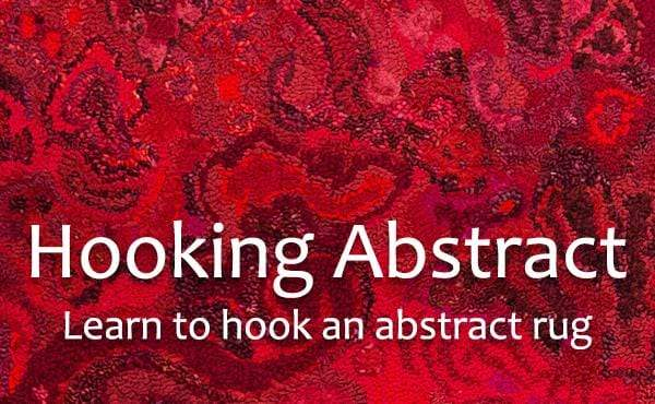 update alt-text with template Beginning to Hook Abstract Rugs: An Introduction to Abstract Design in Rug Hooking with Deanne-Online Learning-vendor-unknown-Rug Hooking Kit -Rug Hooking Pattern -Rug Hooking -Deanne Fitzpatrick Rug Hooking Studio -Is rug hooking the same as punch needle?