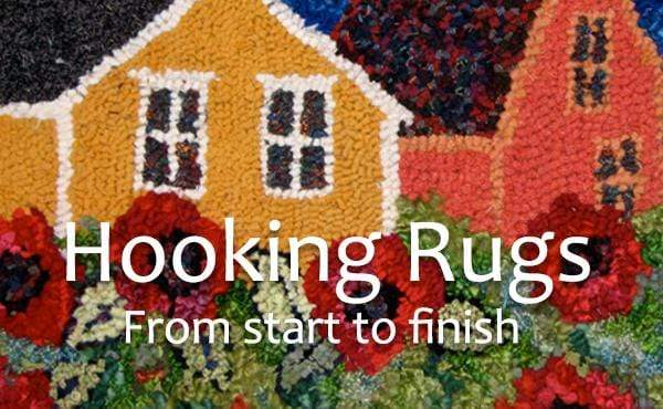 update alt-text with template Hooking Rugs from Start to Finish with Deanne Fitzpatrick (digital video edition)-Online Learning-vendor-unknown-Rug Hooking Kit -Rug Hooking Pattern -Rug Hooking -Deanne Fitzpatrick Rug Hooking Studio -Is rug hooking the same as punch needle?