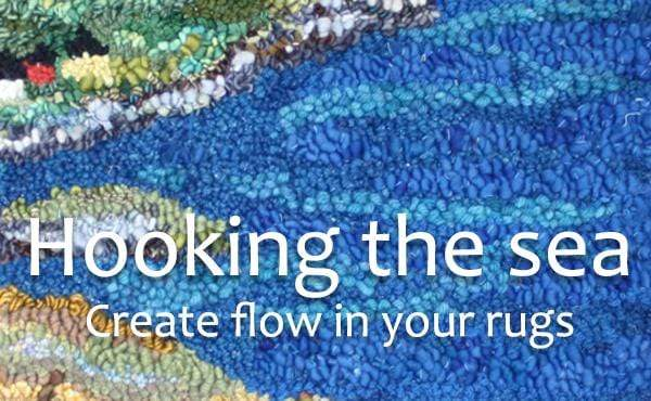 update alt-text with template Hooking the Sea Online Course-Online Learning-Deanne Fitzpatrick Rug Hooking Studio-Rug Hooking Kit -Rug Hooking Pattern -Rug Hooking -Deanne Fitzpatrick Rug Hooking Studio -Is rug hooking the same as punch needle?