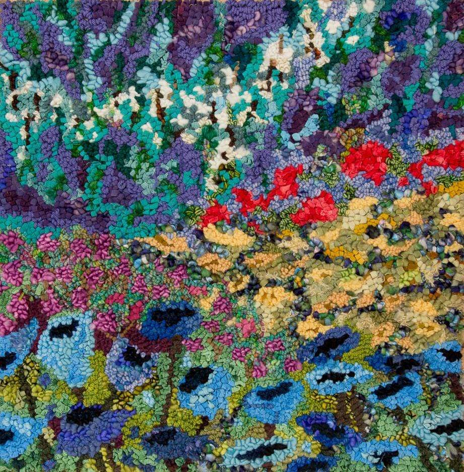 update alt-text with template Impressionistic Floral Garden 24