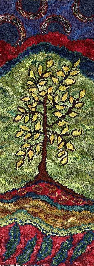 update alt-text with template Lemon Tree-Original Rugs-Deanne Fitzpatrick Rug Hooking Studio-Rug Hooking Kit -Rug Hooking Pattern -Rug Hooking -Deanne Fitzpatrick Rug Hooking Studio -Is rug hooking the same as punch needle?