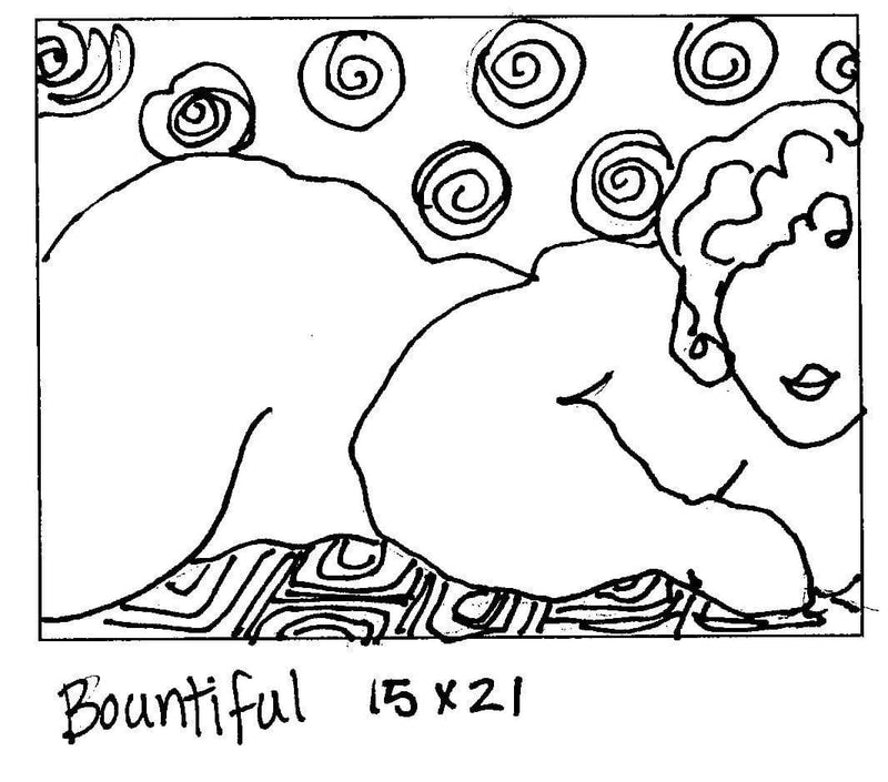 "update alt-text with template Bountiful - Rug Hooking Pattern 15"" x 21""-Patterns-vendor-unknown-Rug Hooking Kit -Rug Hooking Pattern -Rug Hooking -Deanne Fitzpatrick Rug Hooking Studio -Is rug hooking the same as punch needle?"