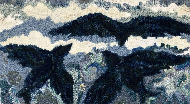 "update alt-text with template Maritime Sky - Rug Hooking Pattern 27.5"" x 15""-Patterns-Deanne Fitzpatrick Rug Hooking Studio-Rug Hooking Kit -Rug Hooking Pattern -Rug Hooking -Deanne Fitzpatrick Rug Hooking Studio -Is rug hooking the same as punch needle?"
