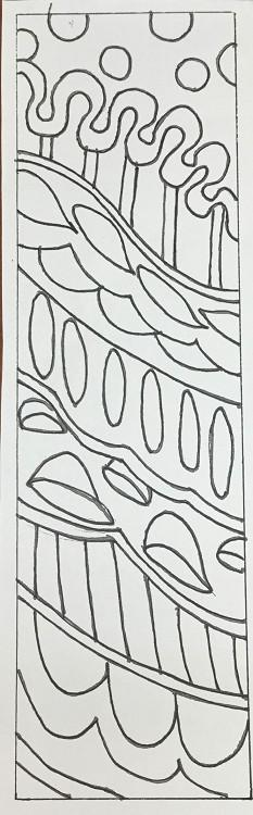 "update alt-text with template Ornate Runner - Rug Hooking Pattern 10"" x 36""-Patterns-vendor-unknown-Rug Hooking Kit -Rug Hooking Pattern -Rug Hooking -Deanne Fitzpatrick Rug Hooking Studio -Is rug hooking the same as punch needle?"