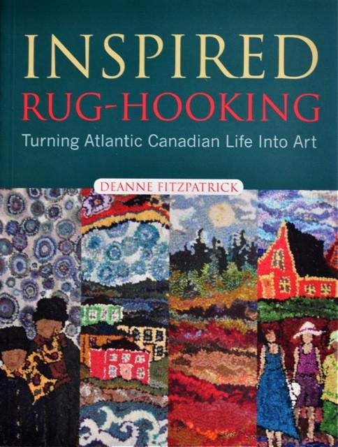 update alt-text with template Inspired Rug Hooking Book by Deanne Fitzpatrick-Supplies-vendor-unknown-Rug Hooking Kit -Rug Hooking Pattern -Rug Hooking -Deanne Fitzpatrick Rug Hooking Studio -Is rug hooking the same as punch needle?