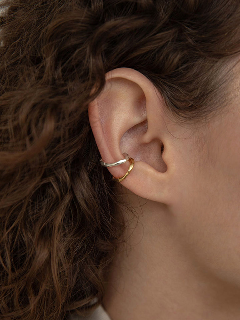 Baroque Wave Ear Cuff