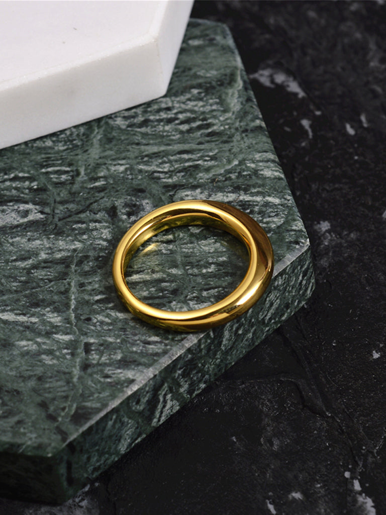 Simple Forms Signet Shape Ring