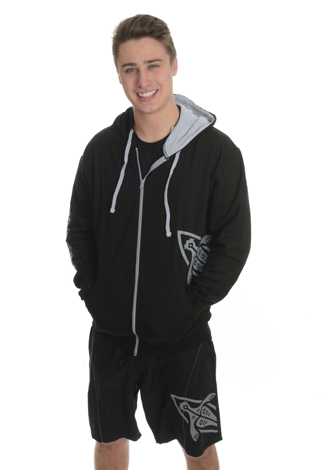 Sealblades zipped hoody