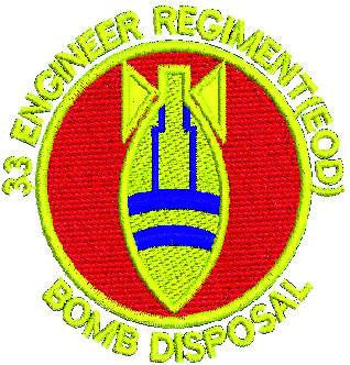 33 Engineers Bomb Disposal