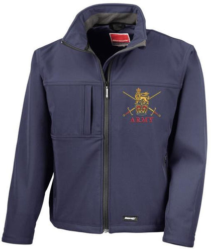 Regimental Softshell Jackets.