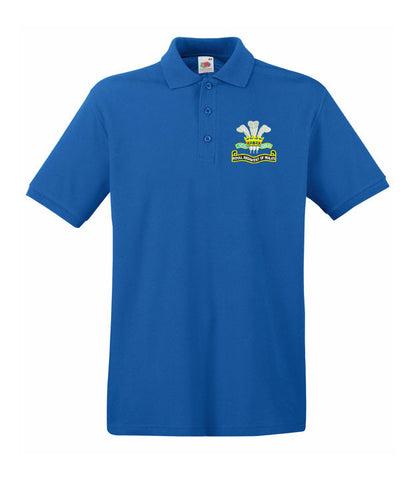 Royal Regiment Of Wales Polo Shirt