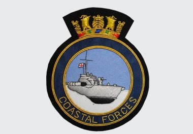 Coastal Force Bullion Wire Blazer Badge