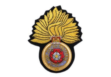 Royal Fusiliers Bullion Wire Blazer Badge