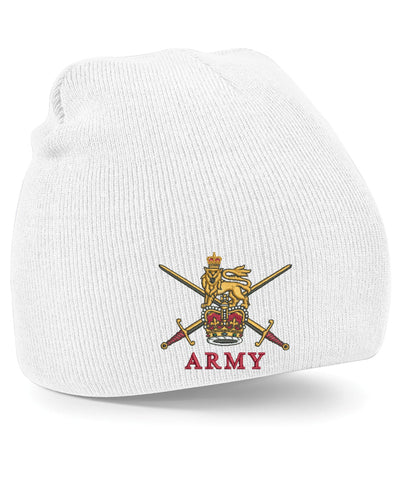 Army Crest Beanie Hats
