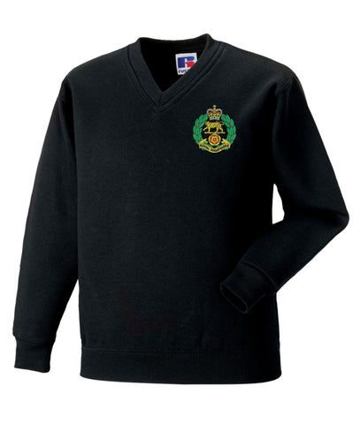 Royal Hampshire Regiment V Neck Sweatshirts