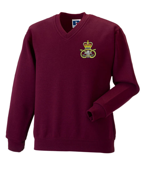 Staffordshire Regiment  V Neck Sweatshirt