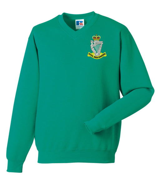 Royal Irish Rangers V Neck Sweatshirt