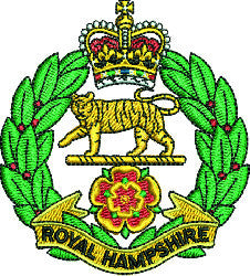 Royal Hampshire Regiment fleece
