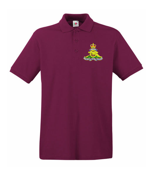 Royal Artillery Polo Shirts