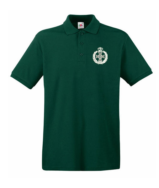 Royal Green Jacket Polo Shirts