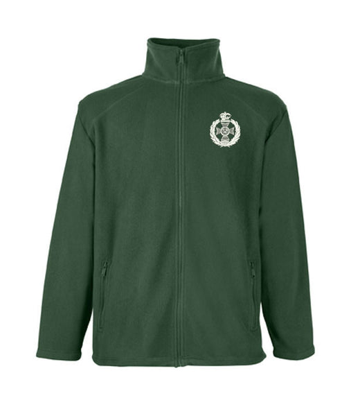 Royal Green Jacket Fleece