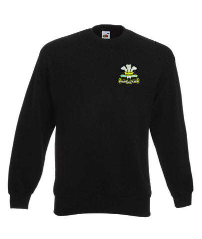 Royal Regiment Of Wales Sweatshirts