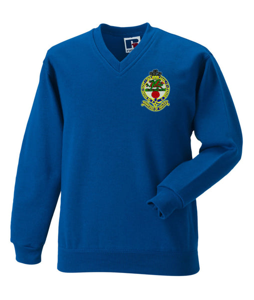 Princess of Wale's Royal Regiment V Neck Sweatshirt