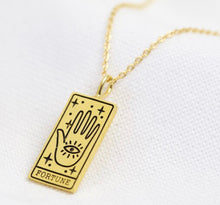 Tarot Card Inspired Necklace