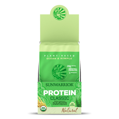 Sunwarrior Classic  Protein natural POP-Box