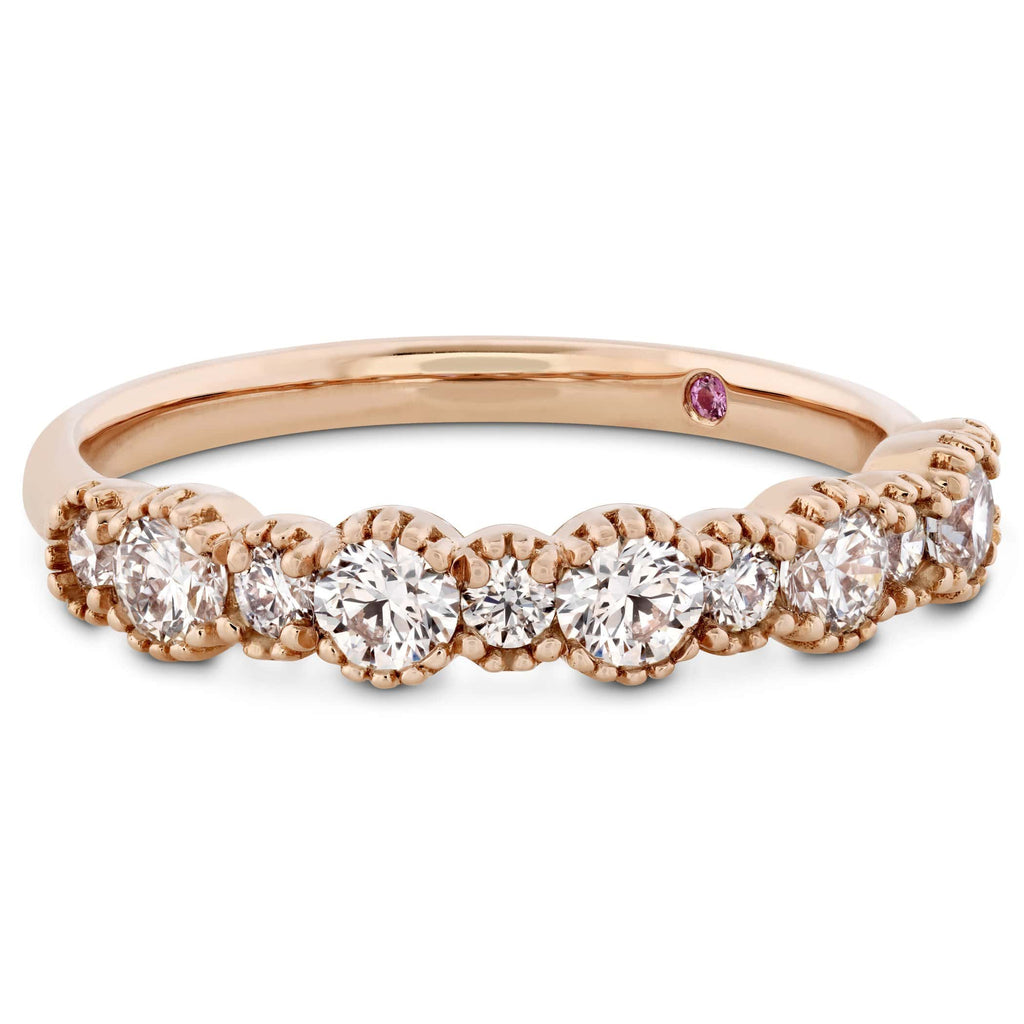 Behati Beaded Band Diamond Ring - Matthews Jewellers