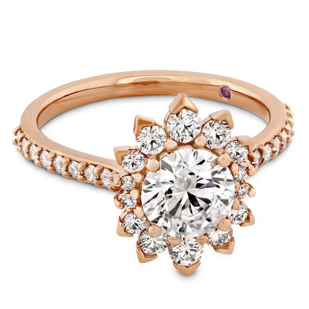 Behati Say It Your Way Engagement Ring - 18K Rose Gold - Matthews Jewellers