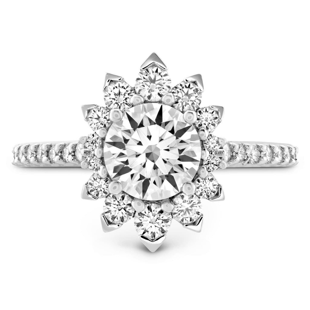 Behati Say It Your Way Engagement Ring - 18K White Gold - Matthews Jewellers