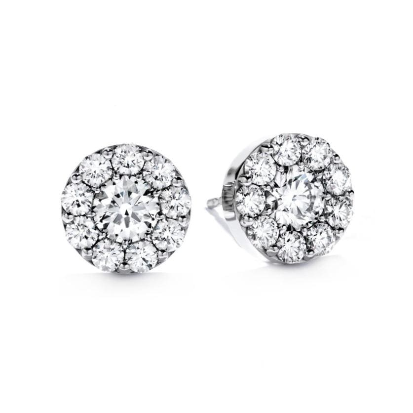Hearts On Fire Fulfillment Stud Diamond Earrings - Matthews Jewellers