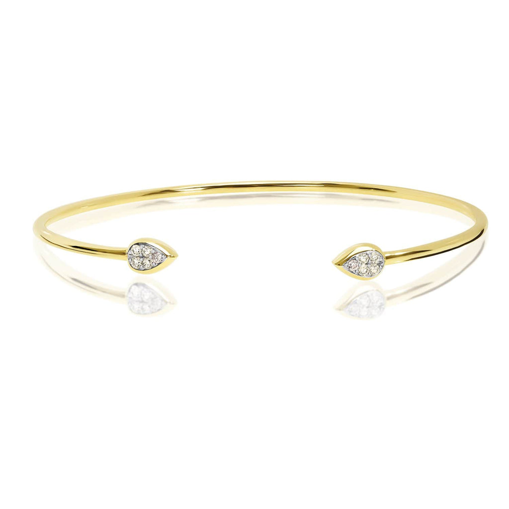 Dreamtime Diamond Gold Bangle - Matthews Jewellers