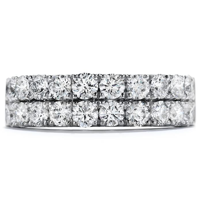 Hearts On Fire Truly Classic Double Row Band - Matthews Jewellers