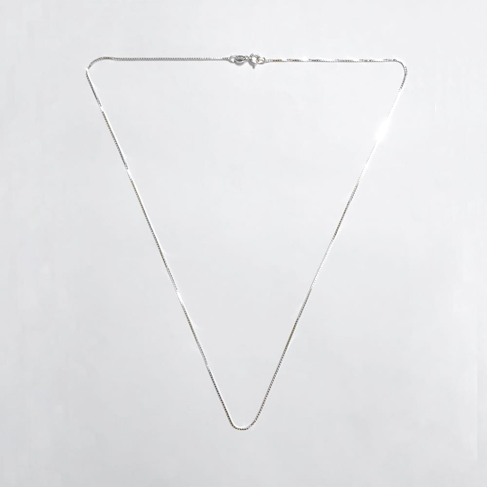 Sterling Silver Box Chain Necklace 20