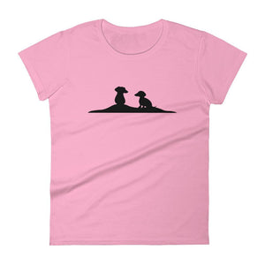 Dachshund Friends - Women's T-shirt - WeeShopyDog
