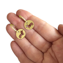 Load image into Gallery viewer, Corgi Earrings - 14K Gold-Plated - WeeShopyDog